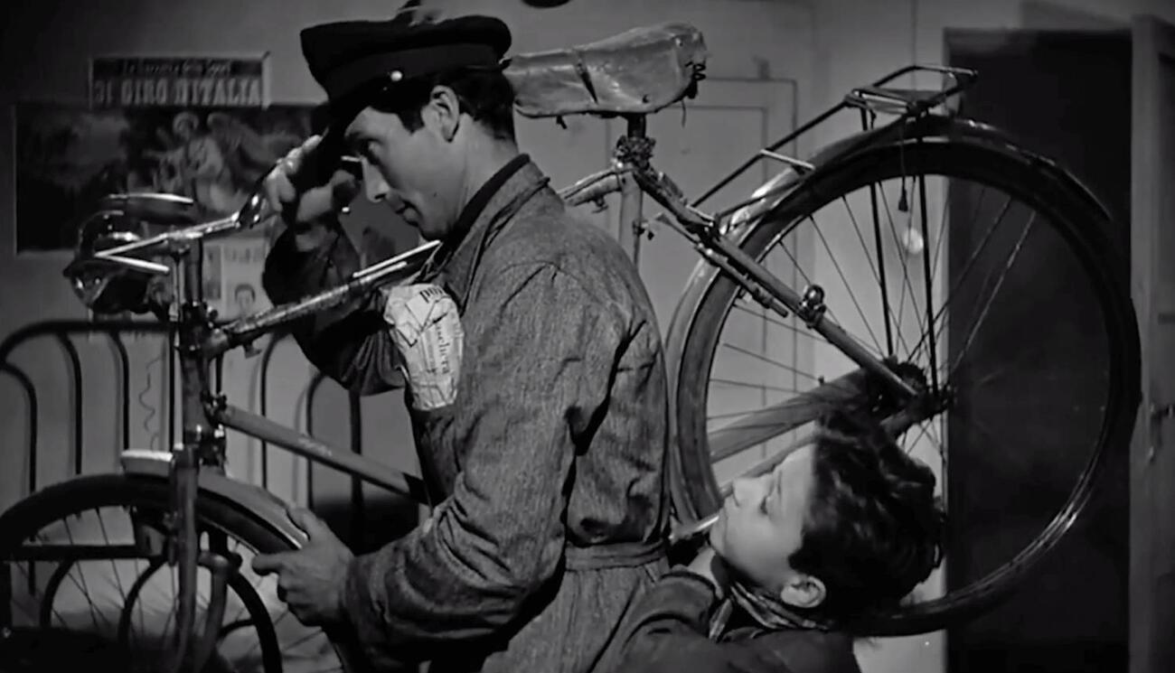 Le voleur de bicyclette, V. Da Sica (1948)