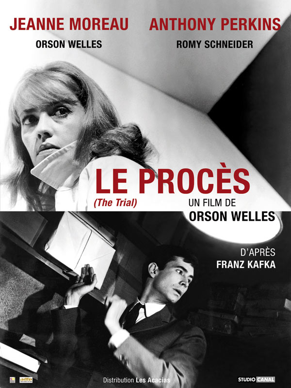 Le procès. Orson Wells (1962)